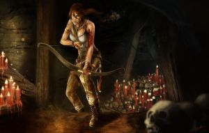 Tomb Raider by Azeltas