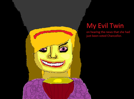 My Evil Twin by freakyamateur