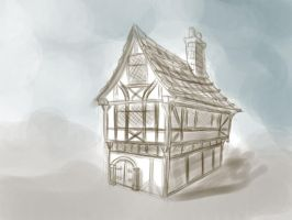 13th century house by Azraial
