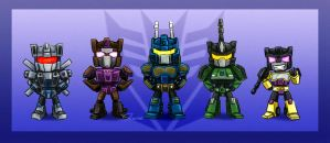 Combaticons by kaithel