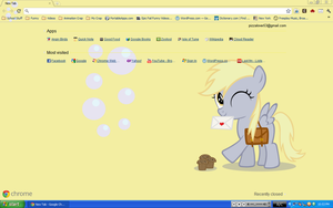 Derpy Hooves Chrome Theme by pizzalover53