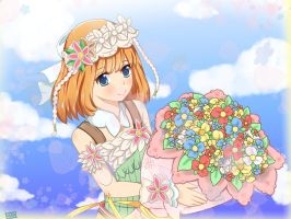 Rune Factory 3: A Fantasy Harvest Moon Shara by Kazuko-Chii