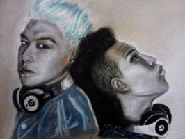 GD and T.O.P by FreyaBigg