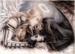 Sleeping Demon and Dreamy Angel by Candra
