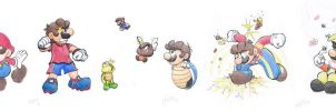 Mario Forms 14-19 by Creation7X24