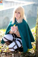 Shingeki no kyojin - Christa Renz by YuukiCosplayer