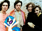 The Beatles and Vinyl Scratch by Bronyman1995