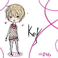 SHINee +Blondi KEY+ by AnNeKMP