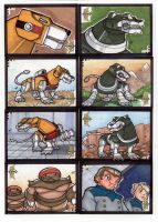 Voltron Sketch Cards 3 of 7 by TerryTibke