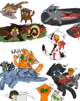 Sad Warriors SPOOFS -Warriors- by PikaPlatinum