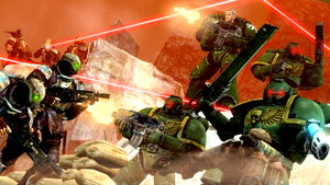 Dork Angels fighting Hairy Ticks by guywiththesuitcase