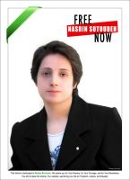 Free Nasrin Sotoudeh by imanwow