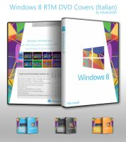 Windows 8 RTM DVD Covers (it-IT) by Misaki2009