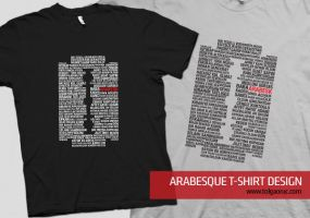 Arabesque T-Shirt by lemondesign