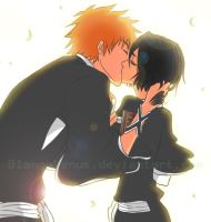 GA: IchiRuki Kissu by BlancaVenus