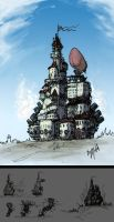 concept.MovingCastle by junon