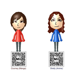 Magma/Aqua Admins Cortney and Shelly Mii's (RSE) by Pfaccioxx