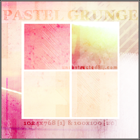 Pastel Grunge by lynzieicons
