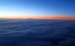 Dawn at 30,000 ft. by zootnik