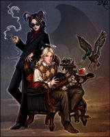 Animamundi meets Good Omens by Candra