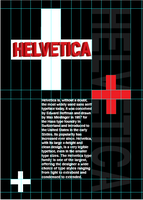 Helvetica Page Layout by SilverThornz