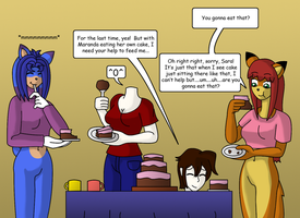 Cake Assistance by gameboysage