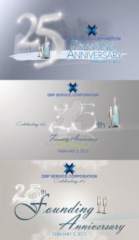 25th founding anniversary by xmacx