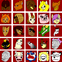 Animal Avatars by mapacheanepicstory