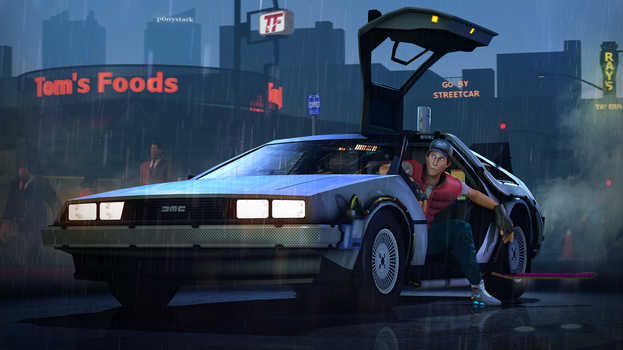Back to the Future by P0nyStark