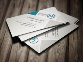 Formal Business Card Design by MisGraphics