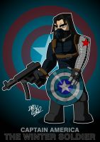 The Winter Soldier by Drew0b1