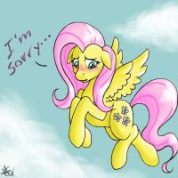 Fluttershy's sorry by MichirurEmO