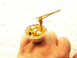 Noodle Dish Ring by souzoucreations