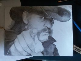 Lemmy Kilmister by zoulse