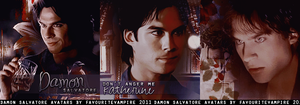 Avatars.Damon Salvatore by favouritevampire