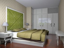 master bedroom apartment by simbahswan
