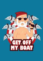 Get off my Boat by alsnow