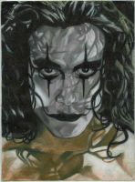 Brandon Lee As The Crow by DrKitty2010