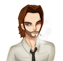 Bigby Wolf by Voodoo-Elf