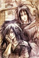 Uchiha brothers by jesterry