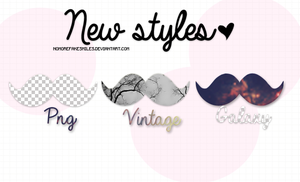 New Styles. by NoMoreFakeSmiles