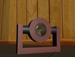 3D Clock by davilesdesigns