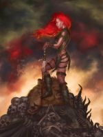 RED SONJA : Calm After the Storm by DymondStarr