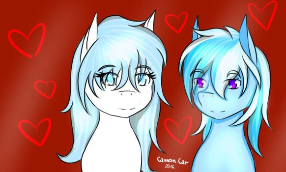 Art Trade: Love by CannonCar
