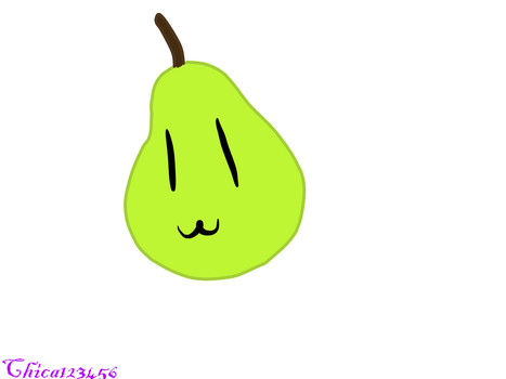Pear by chica123456