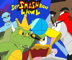 My Super Smash Bros Lawl by Karasu-96
