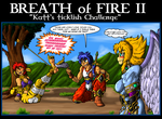 Commission - Breath of Fire II tickle by TheCiemgeCorner