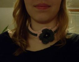 Flower Collar/Necklace/Thing by kittylvr8577