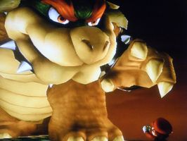 Giant Bowser by marioandsonic-14