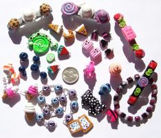 Group Shot - Polymer Clay by Shelby-JoJewelry